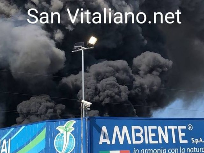 Incendio, non andate verso San Vitaliano