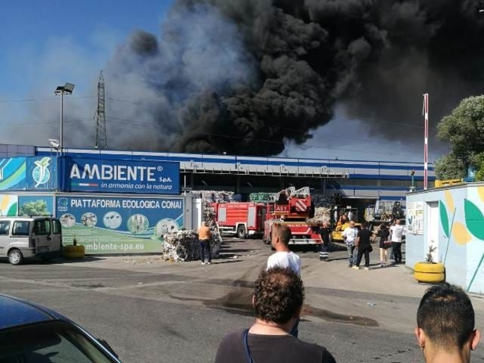 Incendio, parla Ambiente SPA