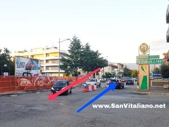 San Vitaliano, cantiere su Via Nazionale: Rivoluzionato il piano traffico. Ecco le novità.