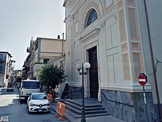 Cantiere San Vitaliano, avviati i lavori di messa in sicurezza dei marciapiedi della Chiesa