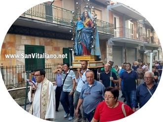 San Vitaliano, al via le celebrazioni per il Santo Patrono: la Madonna della Libera da Frascatoli in processione verso la Chiesa Madre