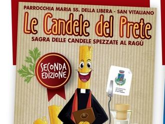 San Vitaliano, sabato sera in piazza per la seconda sagra LE CANDELE DEL PRETE