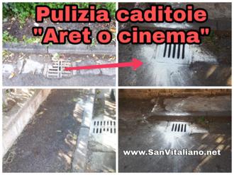 San Vitaliano, continua la pulizia delle caditoie: ecco la segnalazione
