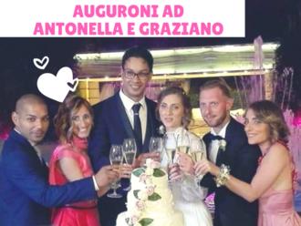 2 sanvitalianesi convolati a nozze: auguroni ad Antonella e Graziano