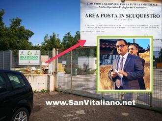 San Vitaliano, isola ecologica: Dissequestro e chiusura temporanea per lavori di rimessa a norma
