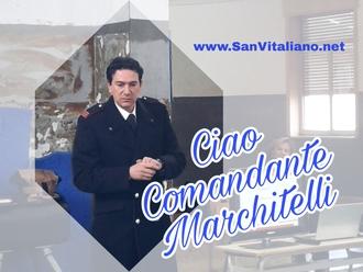 San Vitaliano, trasferito il Comandante Marchitelli della locale stazione dei carabinieri