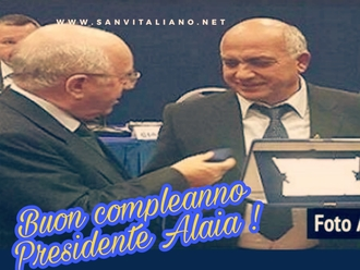 Buon compleanno Presidente Alaia!