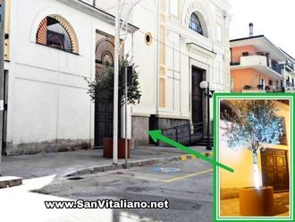 San Vitaliano, ecco il nuovo ingresso della Chiesa Madre di Piazza Tofano