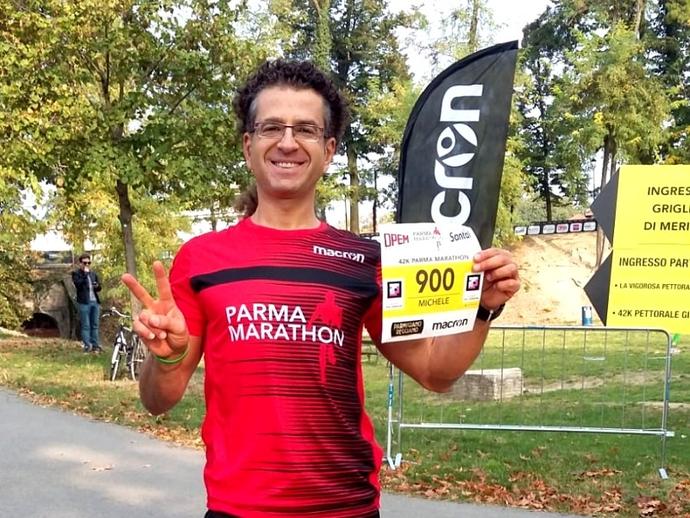 San Vitaliano Sporting, il runner Michele Vaiano alla Maratona di Parma