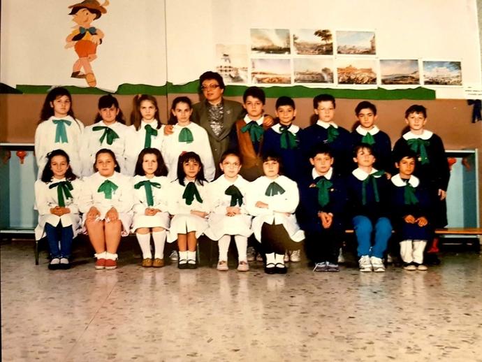 Una delle nostre elementari di 30 anni fa: chi si riconosce ed ora che fate, dove siete?