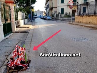 San Vitaliano, furto di caditoie: vuoti segnalati alla buona: facciamo attenzione!
