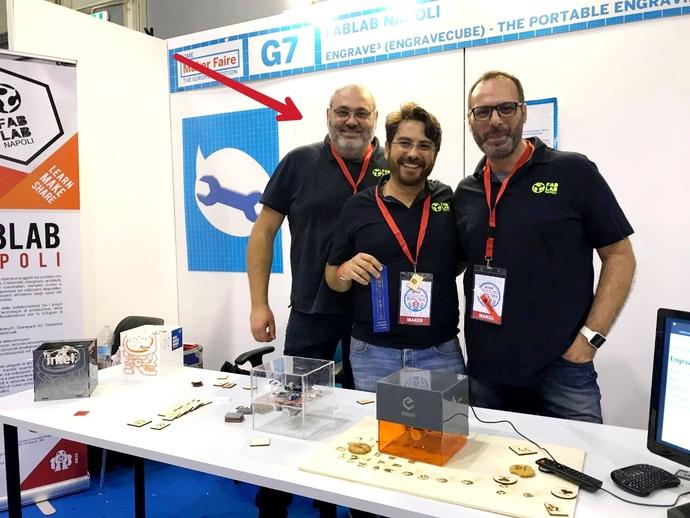 San Vitaliano tecnologica, bel risultato alla Maker Faire di Roma: ecco il progetto