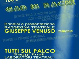 San Vitaliano, il GAD è tornato: al via la stagione teatrale col brindisi di stasera