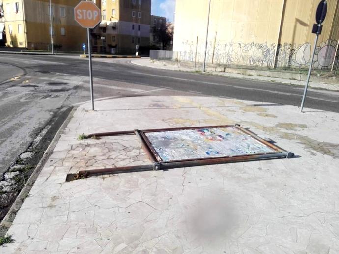 San Vitaliano, impianti di affissione deteriorati: la SOGERT interviene di tasca propria