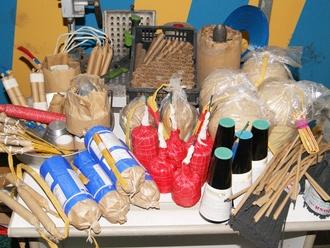 San Vitaliano si prepara già al capodanno: sequestrati 318 bombe carta Rambo2 e 57 kg di materiale