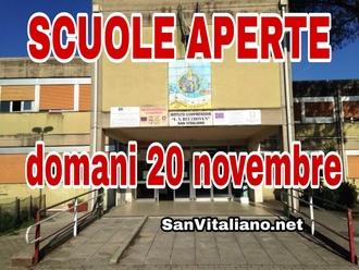 San Vitaliano, mamme: domani scuole aperte