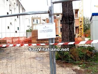 San Vitaliano, Blitz della Polizia Municipale: sequestrato un cantiere edile, 4 i denunciati