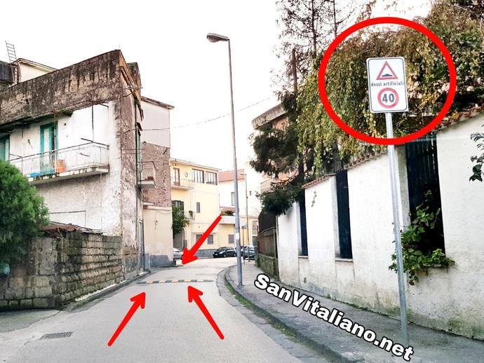 San Vitaliano, via Dante: nuovo limite di velocità e nuovi dossi. Ecco tutti i numeri ..