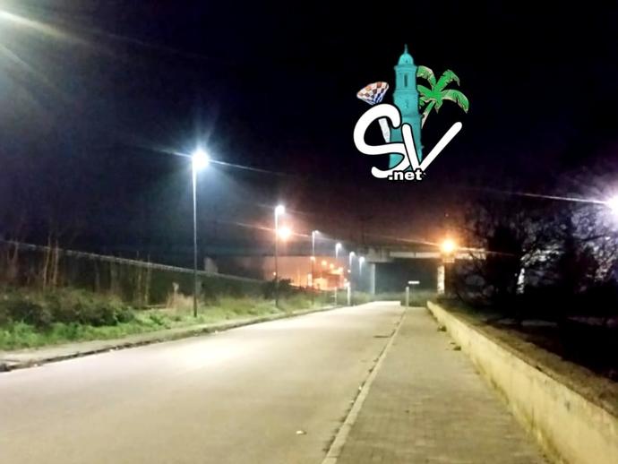 San Vitaliano, viale della stazione: e luce fù !
