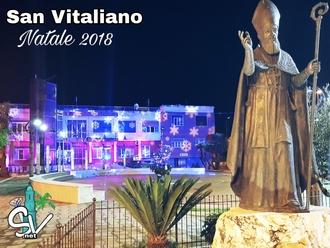 San Vitaliano, Piazza Da Vinci: Natale 2018