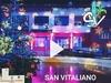 San Vitaliano e Natale : la musica ed i colori di piazza Da Vinci