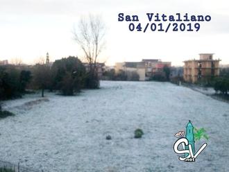 San Vitaliano, il fascino del bianco ( appena un pò eh... )