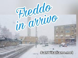 San Vitaliano, attenzione al freddo in arrivo: la segnalazione della protezione civile