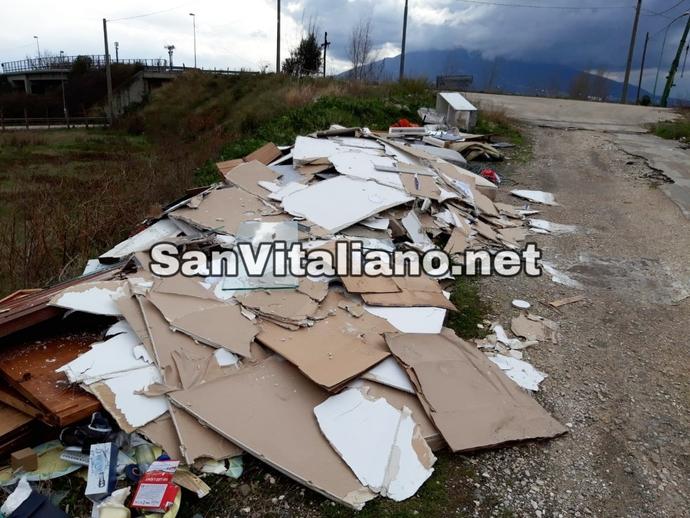 San Vitaliano, beccato chi ha fatto questo scempio:e