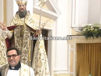 San Vitaliano, Don Francesco:buona domenica e tanta serenita