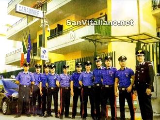 San Vitaliano, in attesa del nuovo Comandante, una foto dei nostri Carabinieri: la nostra sicurezza
