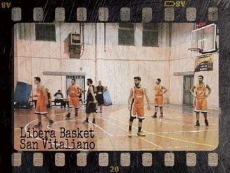 La foto del giorno: Libera Basket San Vitaliano durante la gara col Sinuessa. Anno 2015