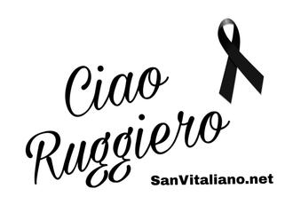 Ciao Ruggiero...
