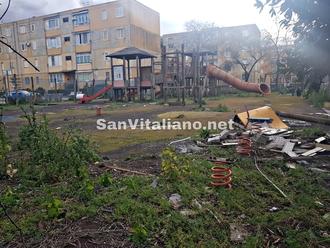San Vitaliano, smontati i primi giochini: avviata la rimozione del Villaggio del Bambino