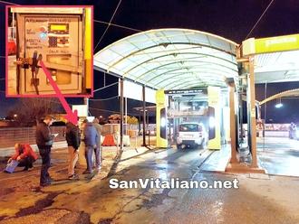 San Vitaliano, autolavaggio Giuliano dietro il Cellini:scassinata la cassa automatica per pochi euro