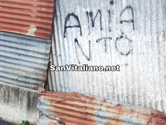 San Vitaliano, lo schifo di Via Vecchioni