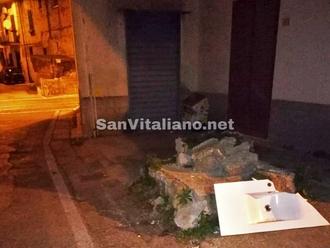 San Vitaliano, dopo il WC, ecco il lavabo... aspettando il bidet