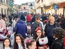 Paese a soqquadro: allegria e maschere in Piazza Tofano grazie a Parrocchia ed Azione Cattolica