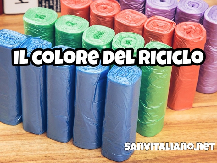 San Vitaliano, buste colorate per la nuova raccolta differenziata: ecco dove e quando ritirarle
