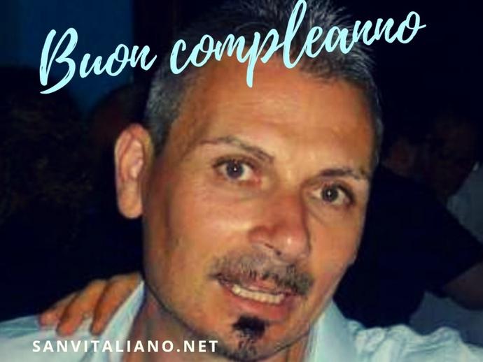 Buon compleanno Vitaliano!