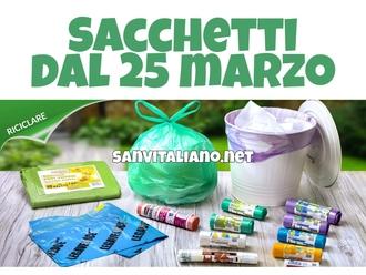 San Vitaliano, nuova raccolta differenziata partita: i sacchetti disponibili a breve
