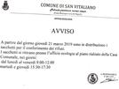 San Vitaliano, raccolta differenziata: arrivate le buste. Ecco come e dove ritirarle