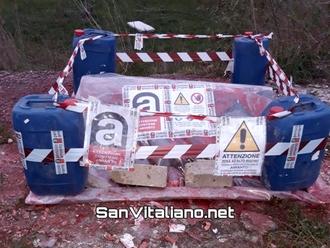 San Vitaliano, discarica a cielo aperto di Amianto: individuato il responsabile, pagherà la bonifica