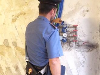 Furto di acqua, arrestato intero condominio dai Carabinieri di San Vitaliano