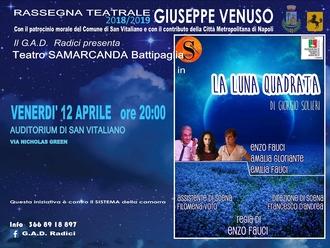 12 aprile: appuntamento a teatro!