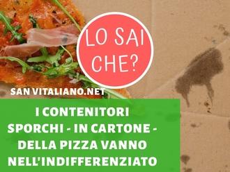 San Vitaliano, raccolta differenziata : ed i cartoni della pizza dove si gettano?