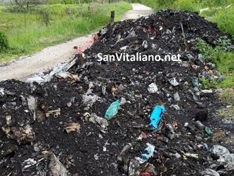 I rifiuti bruciati sono di Salerno: scovati i responsabili dalla P.L. di San Vitaliano
