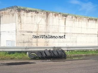 San Vitaliano, chi ha bisogno di un treno di gomme usato ed in pessimo stato?