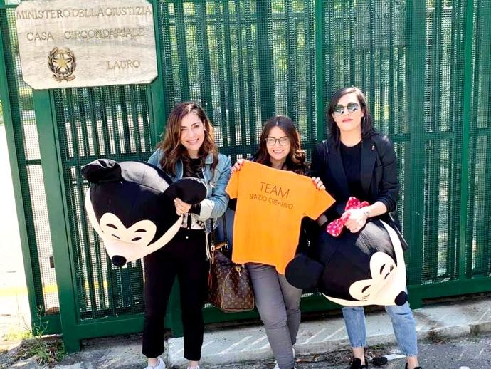 Ludoteca Spazio Creativo, da San Vitaliano al carcere di Lauro per portare sorrisi ai bambini
