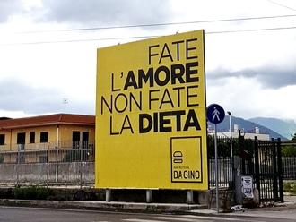 Meravigliosamente Da Gino, la pubblicità che strega: No alla dieta, si all