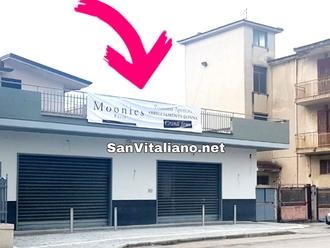 San Vitaliano, oggi inaugura Moonies abbigliamento sulla Nazionale